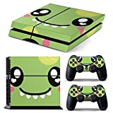 PS4 FULL BODY Accessory Wrap Sticker Skin Cover Decal for Playstation 4 original (SweetGreen)
