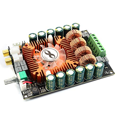 TOOGOO Tda7498E Hochleistungs-Digital-Leistungsverst?Rkerplatine 2.0 HiFi Stereo 160W X 2 Support Btl220W Dc12V-36V
