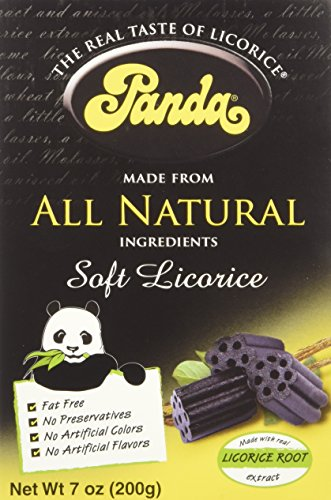 - Panda Licorice, Licorice Chews, 7-Ounce Bags (Pack of 12)