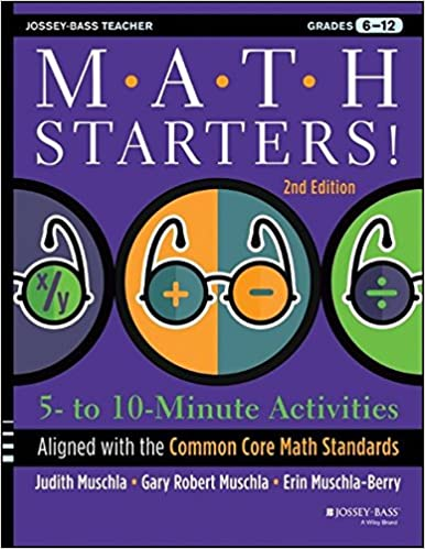 Amazon.com: Math Starters: 5- to 10-Minute Activities Aligned with ...