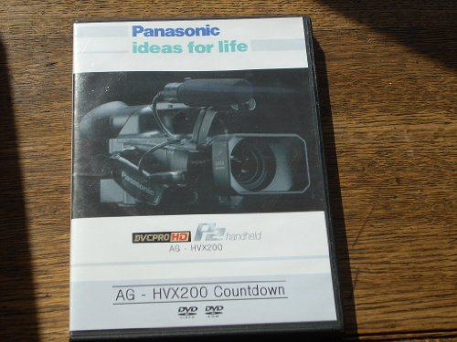 Dvc Disc - Panasonic AG - HVX200 (v3.0) 2 Dvd Set. Disc 1 - HVX200 Countdown, WMV-9 HD files, Camera Manual, Tour, Brochure, P2 White Paper, TV by IT, Tape to IT, SD to HD. Disc 2 - P2 HD Editing and Viewer, HD Logger Demo.
