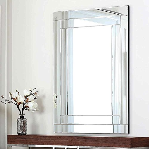 Abbyson Living Fairmont Rectangle Wall Mirror, used for sale  Delivered anywhere in USA