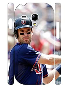 Awesome Collection Mobile Phone Case Sport People Baseball Player Image Hard Plastic Case Cover for Samsung Galaxy S3 Mini I8200 (XBQ-0033T)