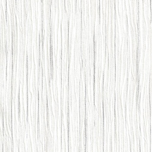 Forest Ivory Embossed Textured Wallpaper For Walls - Double Roll - By Romosa Wallcoverings