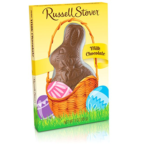 Russell Stover Milk Chocolate Easter Rabbit, 3 oz.