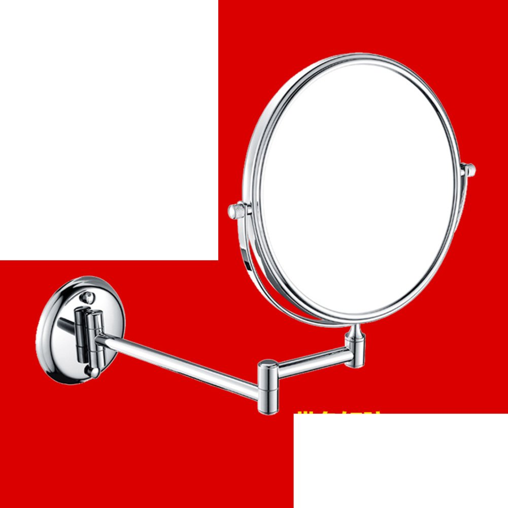 best bathroom vanity mirror/ wall-mounted folding mirror/ bathroom scale mirror/Bathroom double-sided makeup mirror/ beauty in the mirror-O
