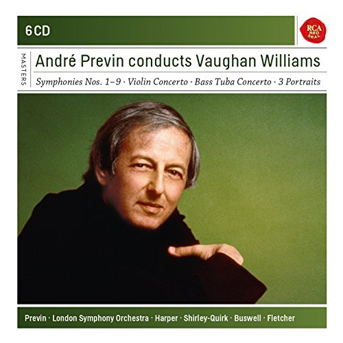Andr Previn conducts Vaughan Williams