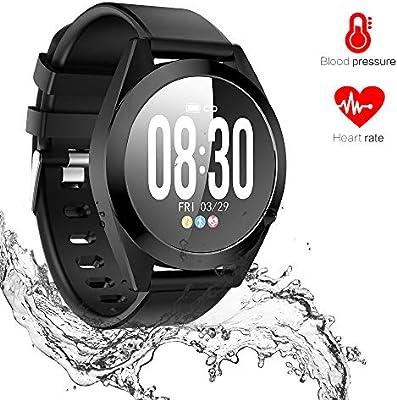 Amazon.com: Omngin Fitness Tracker, reloj de actividad con ...