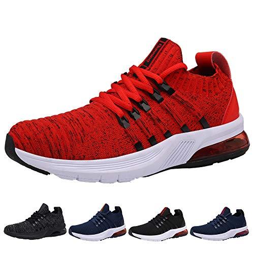 Air Zapatillas de Running para Hombre Deportivas Hombre Zapatos para Correr Gimnasio Sneaker Aire Libre y Deportes…