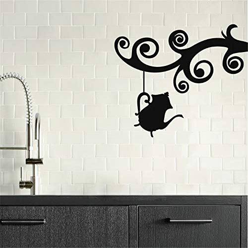 apolxs Wall Decal Sticker Art Mural Home Dcor Quote Hanging Teapot for Living Room Bedroom Kitchen