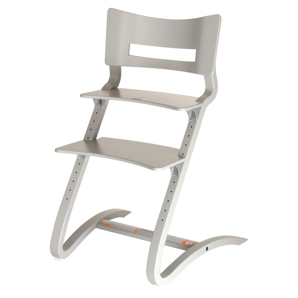 Leander [ リエンダー ] High chair wo. safety bar ハイチェア セーフティバー Grey グレー 300000-09 ベビーチェア 赤ちゃん イス [並行輸入品]  グレー B01CFJVQWY
