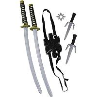 doppia sciabola ninja deadpool per cosplay