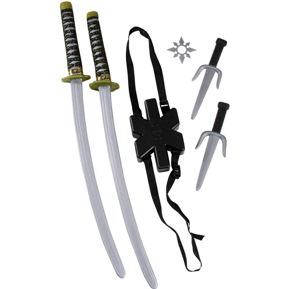Ninja Double Sword Toy Weapon