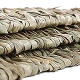 Natural Seagrass Mat Handmade Woven Mat, Safe