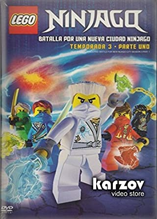 Amazon.com: Ninjago Lego , Temporada 3 Parte 1 Serie Tv ...