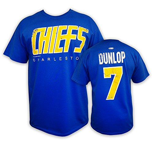 Mad Brothers Reggie Dunlop Slapshot Movie Officially Licensed t-Shirt Charlestown Chiefs