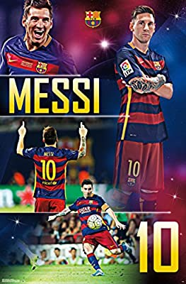 "FC Barcelona, Messi, 22"" x 34"", Wall Poster"