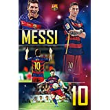"""FC Barcelona, Messi, 22"""" x 34"""", Wall Poster"""