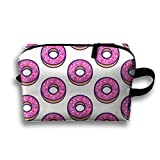 DTW1GjuY Lightweight And Waterproof Multifunction Storage Luggage Bag Cute Donuts