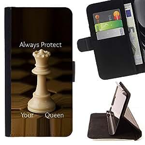 Momo Phone Case / Flip Funda de Cuero Case Cover - Protéger Stratégie Angleterre - Huawei Ascend P8 Lite (Not for Normal P8)