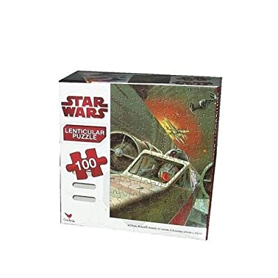 Star Wars Puzzle 100-Piece - Starfighter 3D: Toys & Games