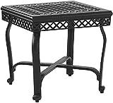 Crosley Furniture Portofino Outdoor Aluminum End Table – Black Review