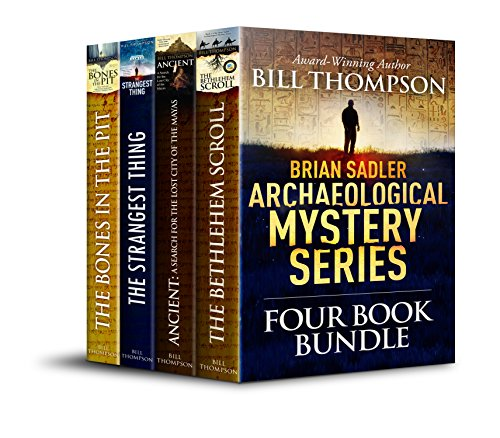 Brian Sadler Archaeological Mysteries 4-book bundle