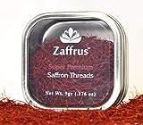 Zaffrus - Super-Premium All Red Saffron Threads (5 gram / .176 oz)
