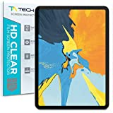 Tech Armor Anti-Glare/Anti-Fingerprint Plastic Film Screen Protector (Not Glass) Designed for Apple iPad Pro 11-inch [2-Pack]