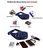 Toudorp Fanny Pack 4 Pockets Waist / Bum Bag 26