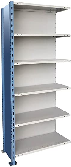 H Post High Capacity Closed Style 5 Shelf Shelving Unit Add On Shelf Capacity 800 Lbs Size 36 W X 24 D X 87 H Amazon Co Uk Office Products