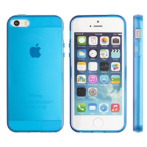 iphone 5 case jelly clear - 7