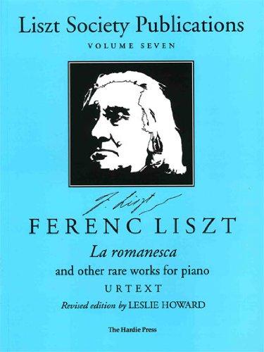 Liszt Society Pub., Volume 7 (Liszt Society Publications) PDF