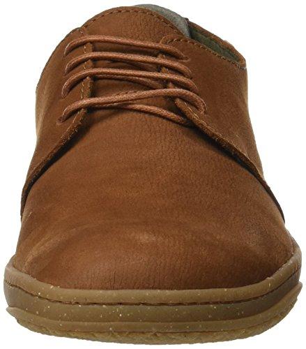legno da uomo basse Sneakers El N5381 Naturalista Marrone w0qnC8