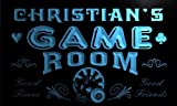 PL1564-b Christian's Game Room Boy Man Bar Light Bar Neon Sign