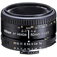 Nikon AF Nikkor 50mm f/1.8D Prime Lens (Black) - International Version (No Warranty) Basic Intro Review Image
