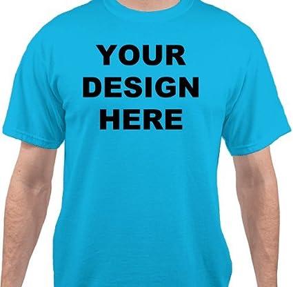 Amazon com : Cheap Custom Shirts - Light Turquoise 4XL
