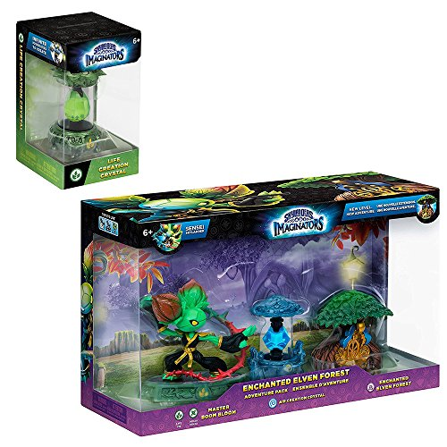- Skylanders Enchanted Elven Forest Adventure Pack with Life Creation Crystal