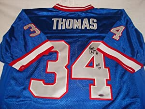 Thurman Thomas Signed Buffalo Bills Jersey, Tristar Authentic