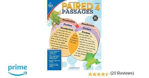 Paired Passages, Grade 4: Pamela McKenzie: 0044222250744: Amazon ...