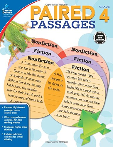 Paired Passages, Grade 4 ebook