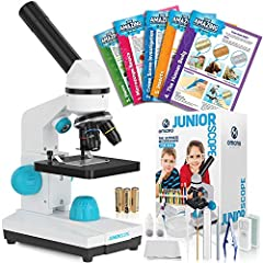 The new Omano JuniorScope is the perfect microscope for your young scientist. This gift will have them put down their phone and perk up their interest in nature. The JuniorScope is a high quality, easy to use microscope built with kids in mind. With ...