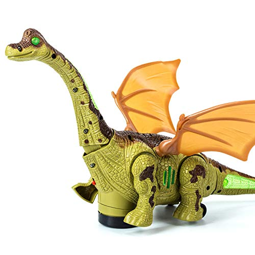 (♛HYIRI Dinosaur Interactive Remote Control Robotic Radio Controlled Dinosauro Electronic Toys)