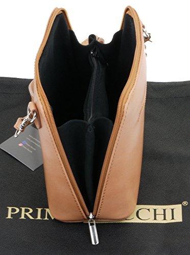 una di custodia croce In pelle tracolla Micro marca borsetta nbsp;Include corpo italiana a Small borsa o Beige borsa protettiva 6aOqRrna