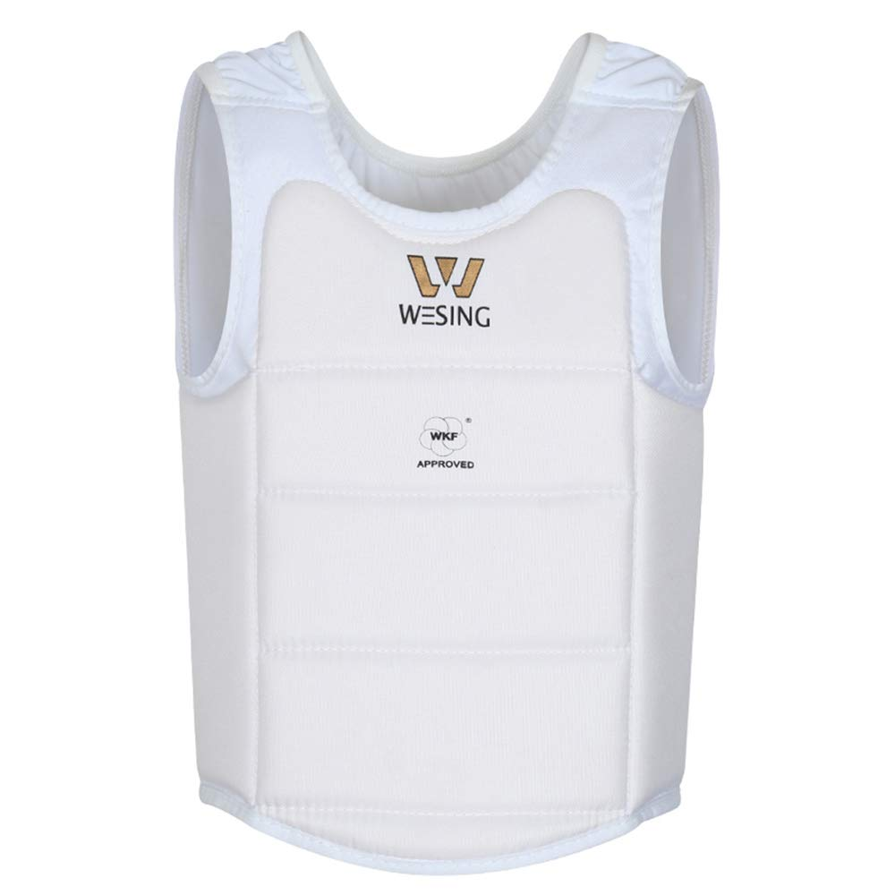 wesing Professional Karate WKF Approved Men Chest Protector (M) by W WESING