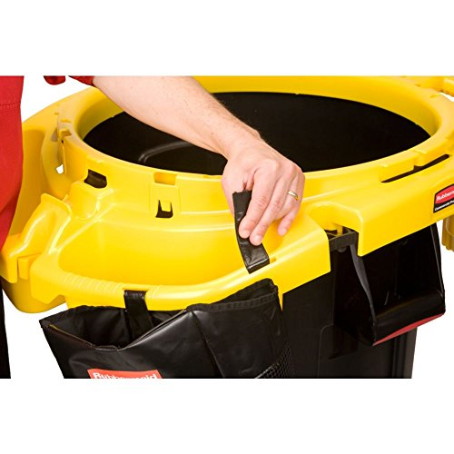 Rubbermaid Commercial FG9VDVRC4400 Yellow Polyethylene Deluxe Rim Caddy, 28 1/2'' x 39 1/8'' by Rubbermaid Commercial (Image #6)