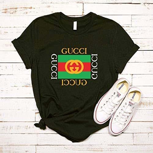62cf620b Amazon.com: Gucci Shirt, Gucci Tshirt, Gucci Shirt T-shirt For Men ...
