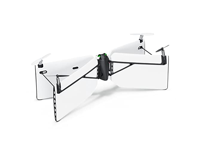 Parrot PF727004 - Mini drone Swing + flypad, color blanco: Amazon ...