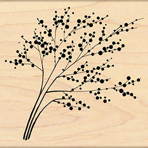 - Penny Black 4273K Winter Berries Wood Mounted Rubber Stamp