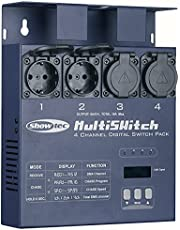 Showtec MultiSwitch switchpack 4-kanaals